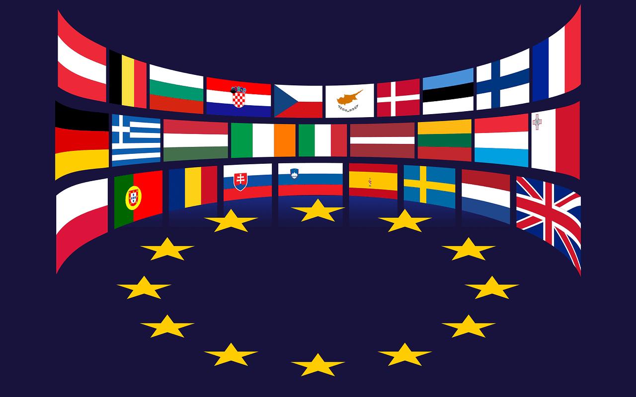 Europafahnen Übersicht
