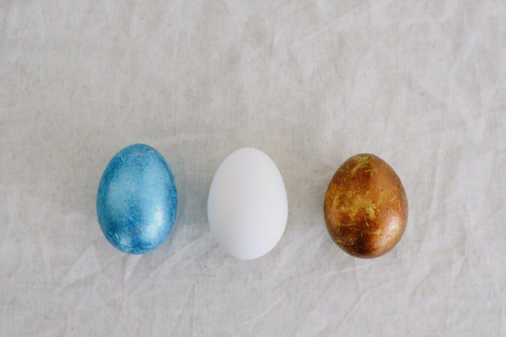 Ei aus Sinterbronze