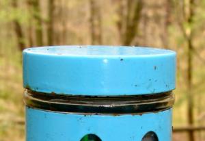 Zisterne Kunststoff bei Regenwasser-Zisterne