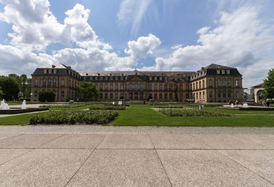 Das Neue Schloss in Stuttgart